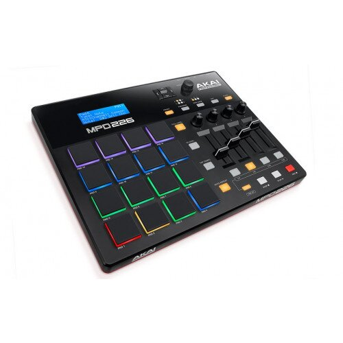 Akai Professional MPD226 Feature-Packed, Highly Playable Pad Controller