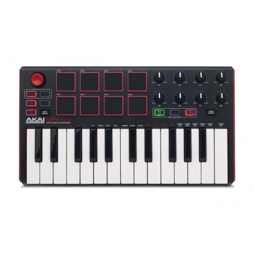 Akai Professional MPK Mini mkII Compact Keyboard and Pad Controller