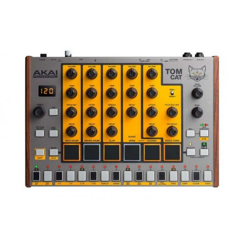Akai Professional Tom Cat Analog Drum Machine with Built-in Percussion Voices