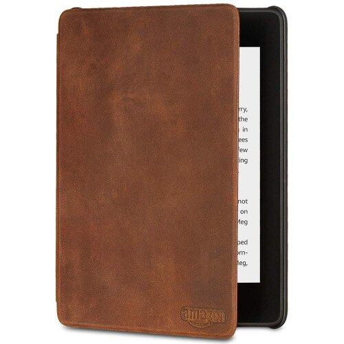 Amazon All-new Kindle Paperwhite Premium Leather Cover (10th Generation-2018)