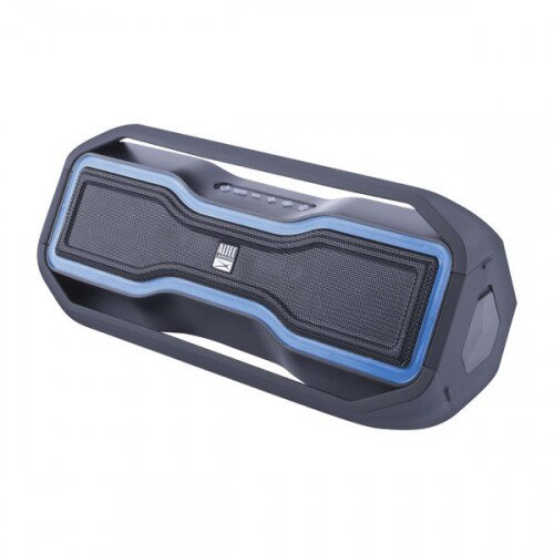 Altec Lansing Rockbox Portable Bluetooth Speaker - Blue