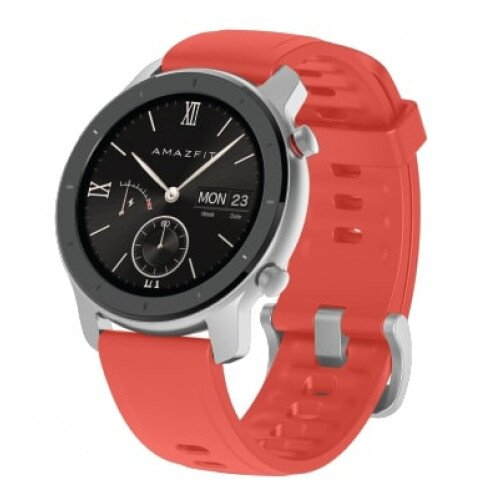 Amazfit GTR Smart Watch - Coral Red