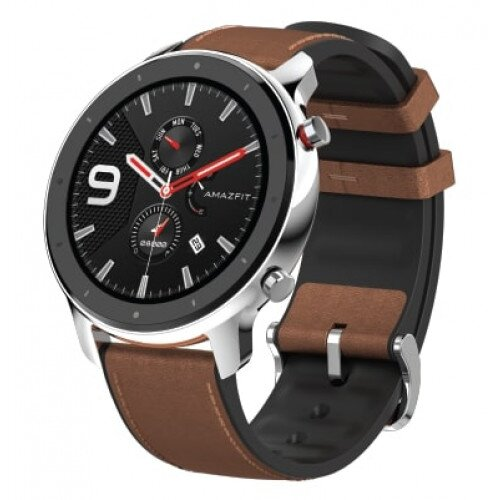 Amazfit GTR Smart Watch - Stainless Steel