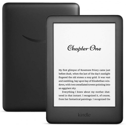 Amazon All-new Kindle - Now with a Built-in Front Light 4 GB (International Version) - Black