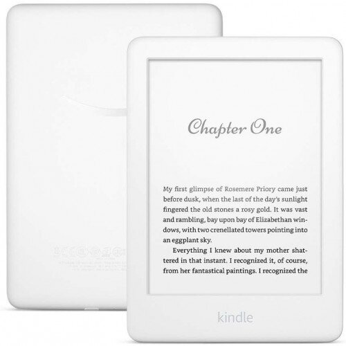 Amazon All-new Kindle - Now with a Built-in Front Light 4 GB (International Version) - White