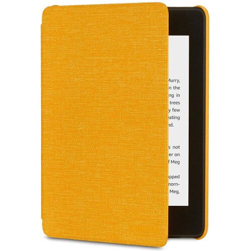 Amazon All-new Kindle Paperwhite Water-Safe Fabric Cover (10th Generation-2018) - Canary Yellow