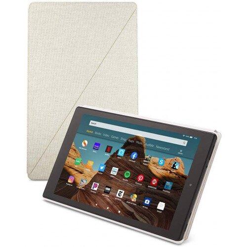 Amazon Fire HD 10 Tablet Case - Sandstone White