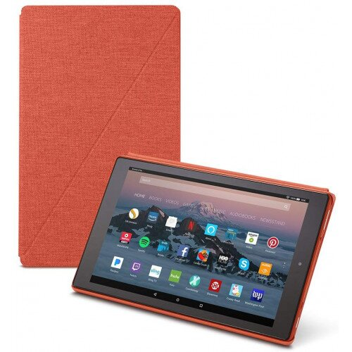 Amazon Fire HD 10 Tablet Case (7th Generation, 2017 Release) - Punch Red