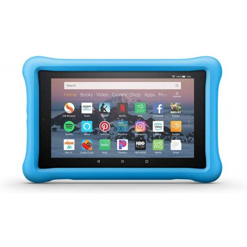 Amazon Kid-Proof Case for Amazon Fire HD 8 Tablet (Compatible with 7th and 8th Generation Tablets, 2017-2018 Releases) - Blue