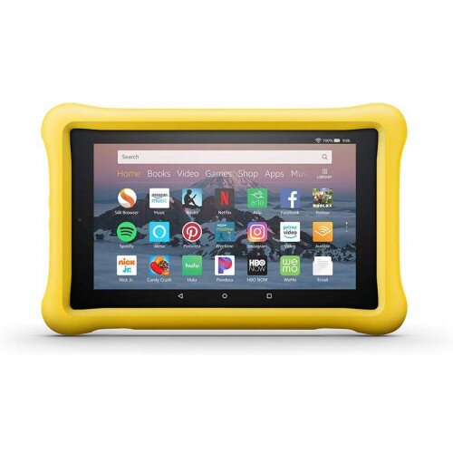 Amazon Kid-Proof Case for Amazon Fire HD 8 Tablet (Compatible with 7th and 8th Generation Tablets, 2017-2018 Releases) - Yellow