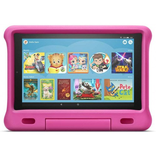 Amazon Kid-Proof Case for Fire HD 10 Tablet (Compatible with 7th and 9th Generations, 2017 and 2019 Releases) - Pink