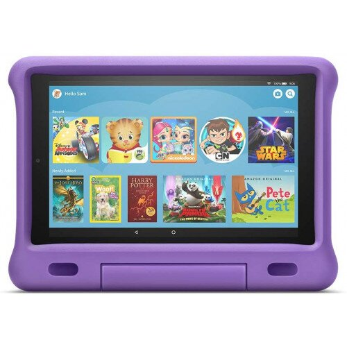 Amazon Kid-Proof Case for Fire HD 10 Tablet (Compatible with 7th and 9th Generations, 2017 and 2019 Releases) - Purple