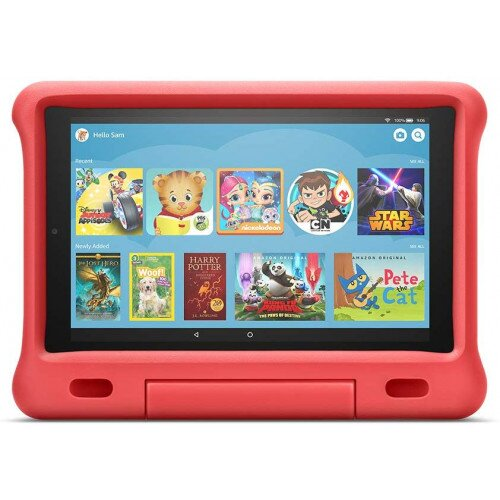 Amazon Kid-Proof Case for Fire HD 10 Tablet (Compatible with 7th and 9th Generations, 2017 and 2019 Releases) - Red