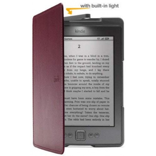 Amazon Kindle Lighted Leather Cover For Kindle 5th Generation, 2012 Model