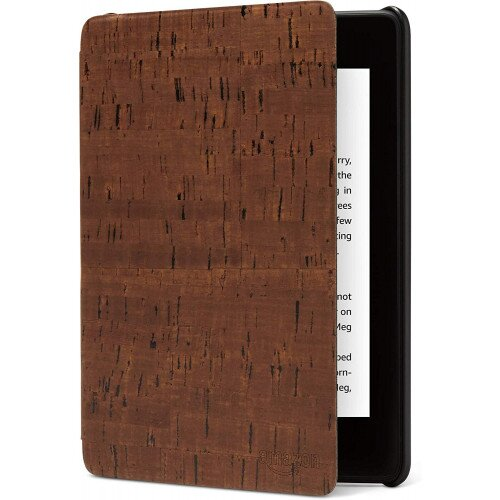 Amazon Kindle Paperwhite (10th Gen) premium water-safe cork leather cover - Brown