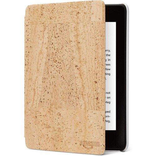 Amazon Kindle Paperwhite (10th Gen) premium water-safe cork leather cover - Tan