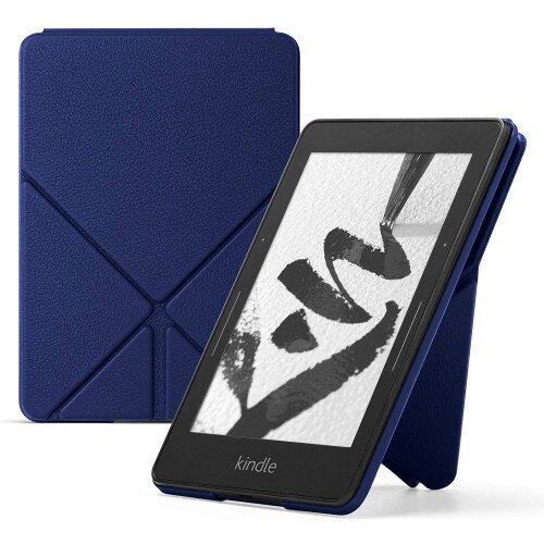Amazon Kindle Voyage Leather Origami Case - Blue