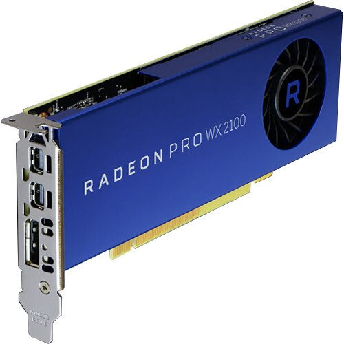 AMD Radeon Pro WX 2100 Graphics Card
