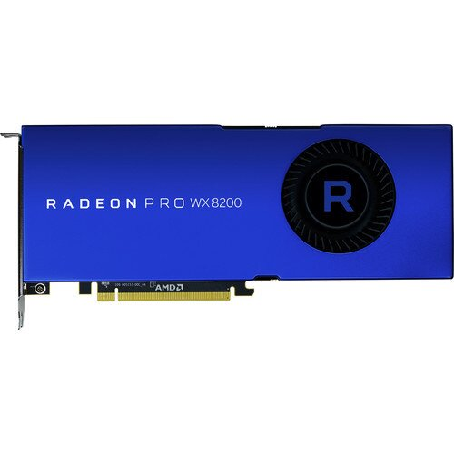 AMD Radeon Pro WX 8200 Graphics Card