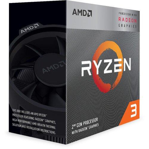 AMD Ryzen 3 3200G Processor with Radeon Vega 8 Graphics