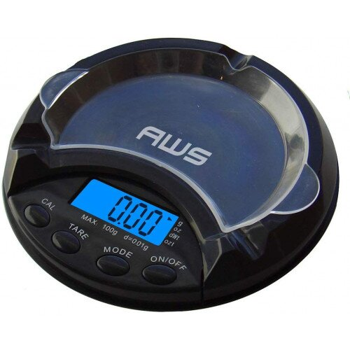 American Weigh ATS-100 Ashtray Scale 100x0.01g