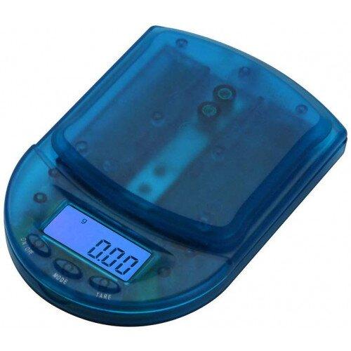 American Weigh BCM-650 Digital Pocket Scale 650g x 0.1g - Clear Blue