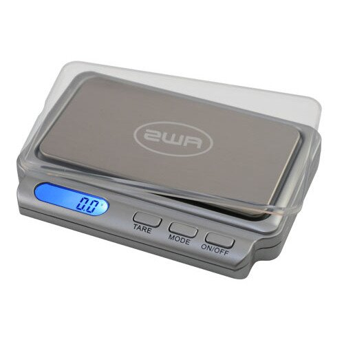 American Weigh Card2 600 Digital Pocket Scale 600 x 0.1g - Charcoal Gray