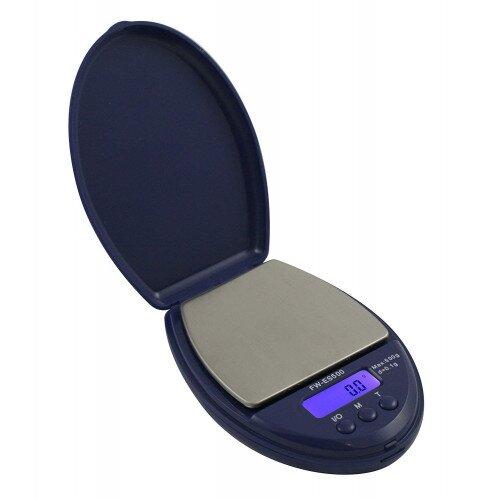 American Weigh Fast ES-600 Pocket Scale 600g x 0.1g - Blue