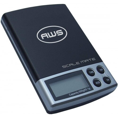 American Weigh SM-5DR Dual Range Pocket Scale 100x0.01g/500x0.1