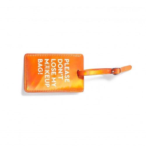 Anastasia Beverly Hills ABH Luggage Tag - Metallic True Orange