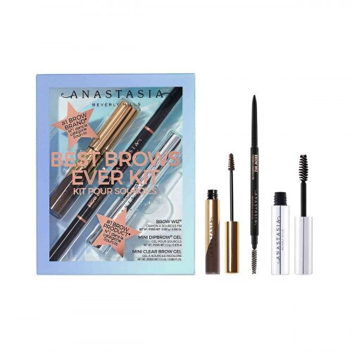 Anastasia Beverly Hills Best Brows Ever Kit - Dark Brown