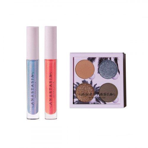 Anastasia Beverly Hills The Sunset Set Eyeshadow Palette & Lip Glosses
