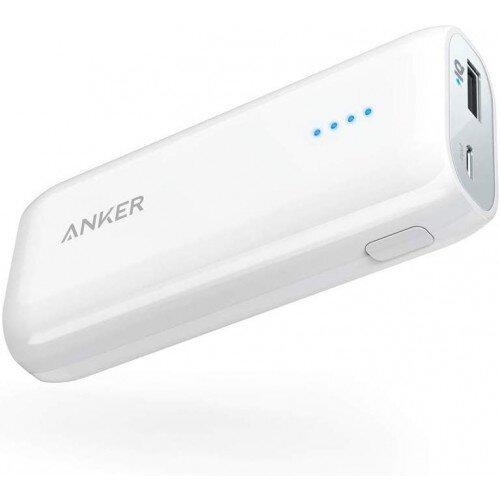 Anker Astro E1 Portable Power Bank - 6700mAh - White