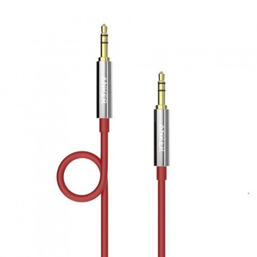 Anker Auxiliary Audio Cable - Red