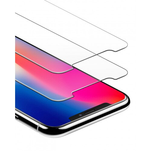 Anker GlassGuard Screen Protector for iPhone X /iPhone Xs