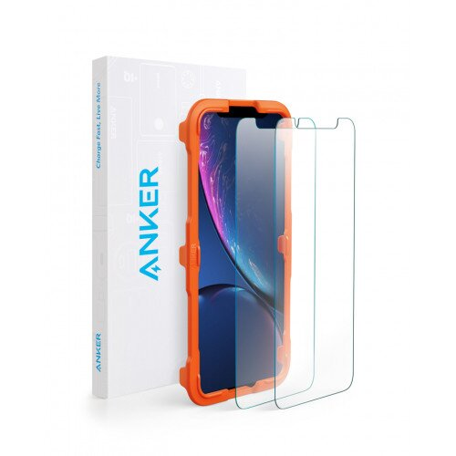 Anker GlassGuard Screen Protector for iPhone XR 2018