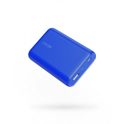 Anker PowerCore 10000mAh High-Capacity Portable Charger - Blue