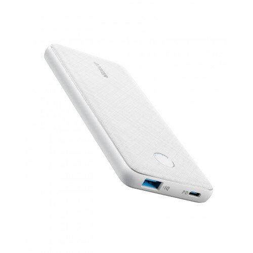 Anker PowerCore Slim 10000 PD Portable Power Bank - Arctic White