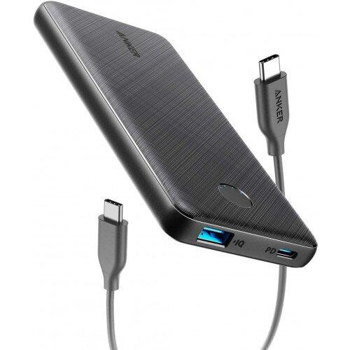Anker PowerCore Slim 10000 PD Portable Power Bank - Black
