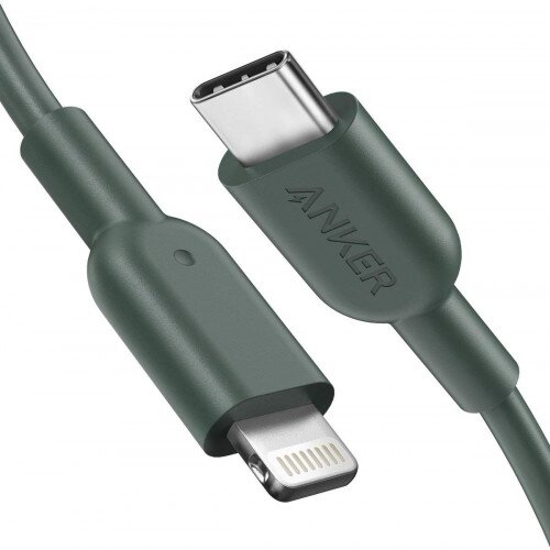 Anker Powerline II C to Lightning Cable - Green