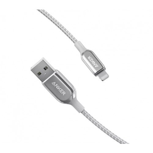 Anker PowerLine + III Lightning Cable - 3ft - Silver