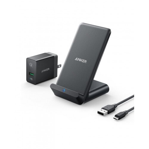 Anker PowerWave 7.5 Stand with Internal Cooling Fan - Black