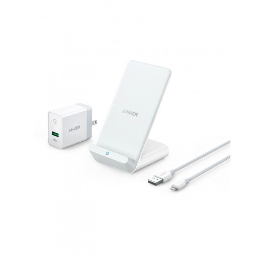 Anker PowerWave 7.5 Stand with Internal Cooling Fan - White