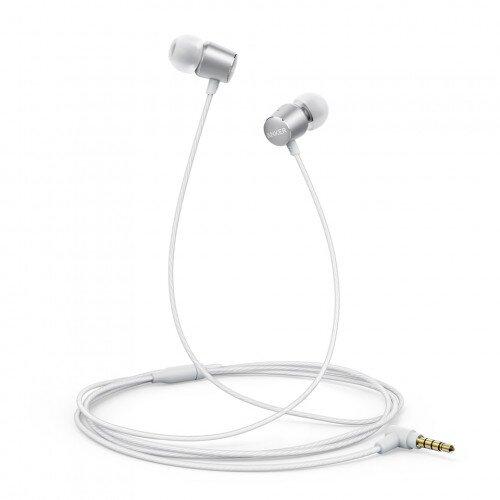 Anker Soundbuds Verve Wired Headphones - White