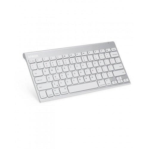 Anker Ultra Compact Profile Wireless Bluetooth Keyboard - White