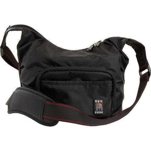 Ape Case AC520 Envoy Nylon Compact Messenger Bag - Black