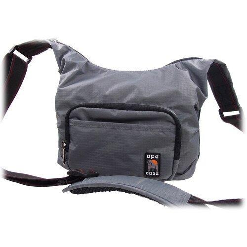 Ape Case AC520 Envoy Nylon Compact Messenger Bag - Gray