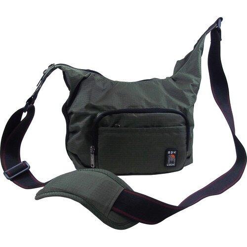 Ape Case AC520 Envoy Nylon Compact Messenger Bag - Green