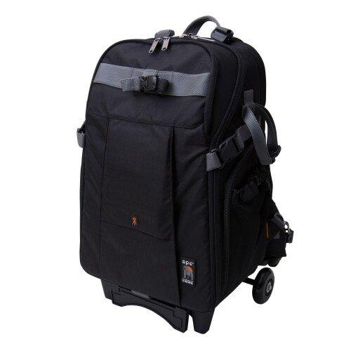 Ape Case ACPRO3500 Sleek & Stylish Camera Backpack - Trolly - Black
