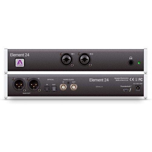 Apogee Element 24 Thunderbolt Audio I/O Box for Mac